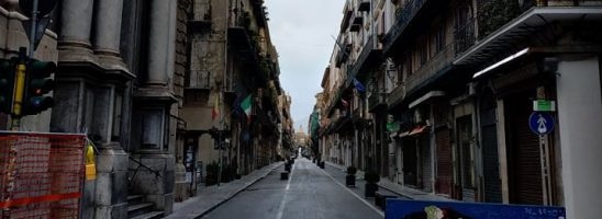 L'emergenza Covid-19 vista da Palermo, tra lavoro sociale coi ragazzi e rivolte destinate ad allargarsi