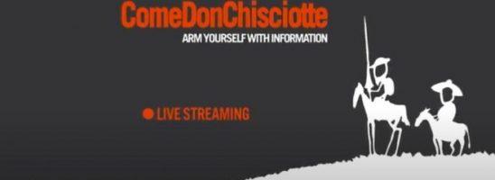 TG Come Don Chisciotte – Diretta Web 21 Maggio 2020