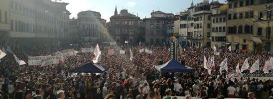 Difendere la Costituzione in Italia non va bene!