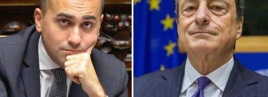 Un M5S al servizio dell'Ue: Di Maio incontra (lontano da tutti) Mario Draghi