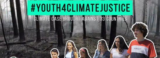 Clima e inquinamento: sei giovani portoghesi fanno causa a 33 paesi