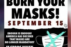 Gli americani contro l'obbligo incostituzionale delle mascherine