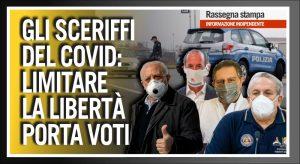 """Gli """"Sceriffi del Covid"""" cavalcano la paura e vincono le elezioni. TG ComeDonChisciotte 22 Settembre 2020"""