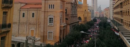 """L'anniversario della """"rivoluzione"""" libanese"""