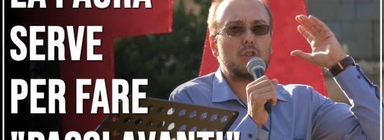 Marco Mori La Paura Diventa Strumento per Fare Passi Avanti – Marcia della Liberazione, Roma 10 Ottobre
