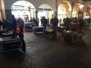 Padova - Le Maestranze dello Spettacolo si prendono la scena