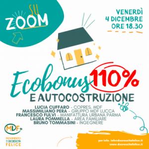 Ecobonus 110% e autocostruzione