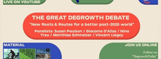 The Great Degrowth Debate – partecipa al dibattito internazionale!