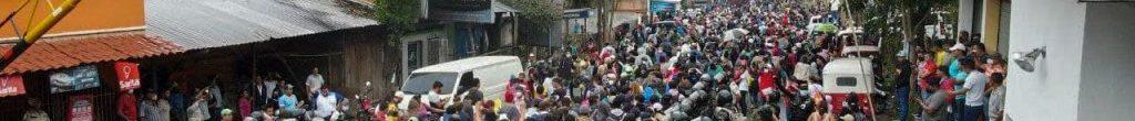 Riprende l'esodo centro americano, in fuga dalle conseguenze della pandemia e dei cambiamenti climatici