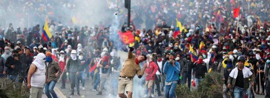 Esplosioni o rivolte