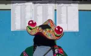 Elezioni in Perù, cambiare per rimanere uguali