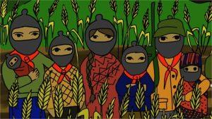 La Gira zapatista invade l'Italia